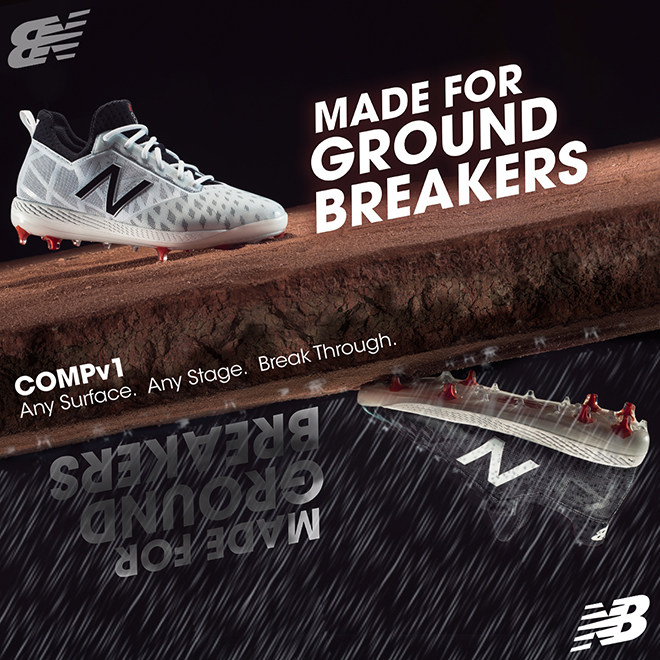 A Behind The Scenes Look Into The New Balance CompV1 Baseball Cleats