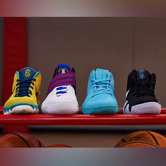 The Nike Kyrie 4: Inspired By The Past, Built For The Future