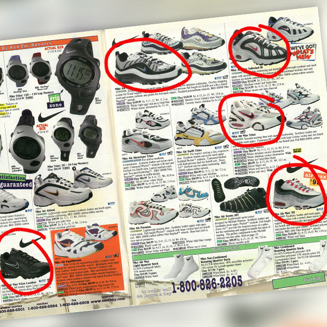 A Look Back: Nike Air Max Running in 1998