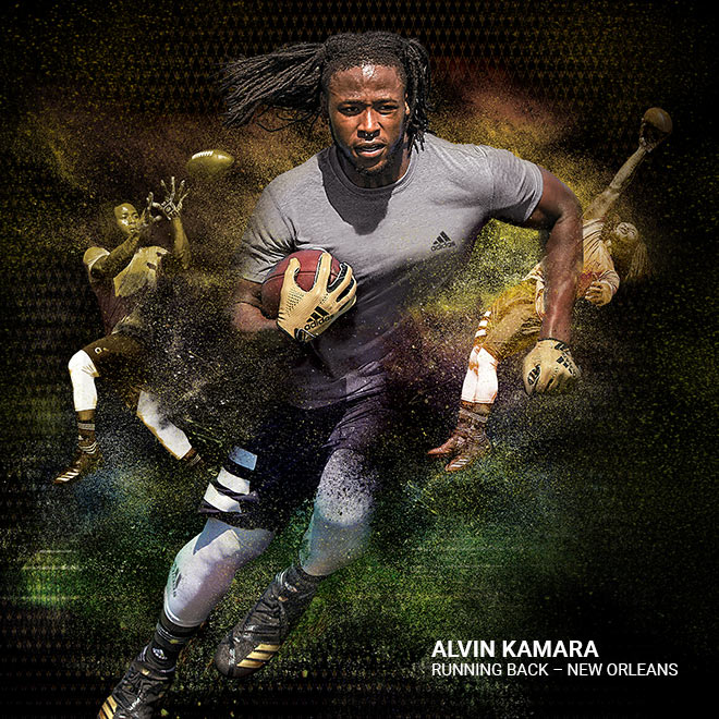 The Two Sides Of Alvin Kamara
