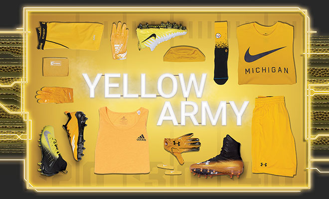 Football By Color Yellow