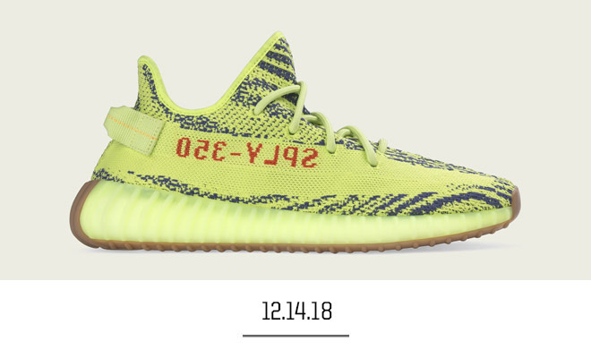 'Semi-Frozen Yellow' Yeezy