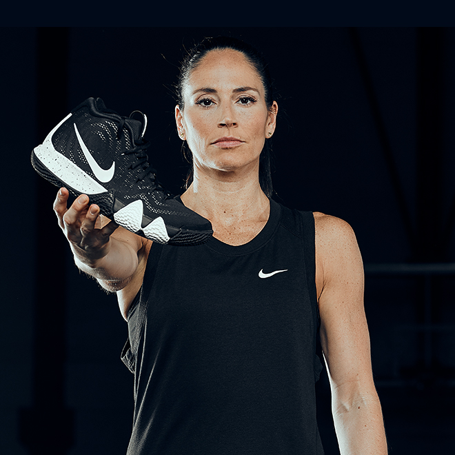 Sue Bird and the Kyrie 4