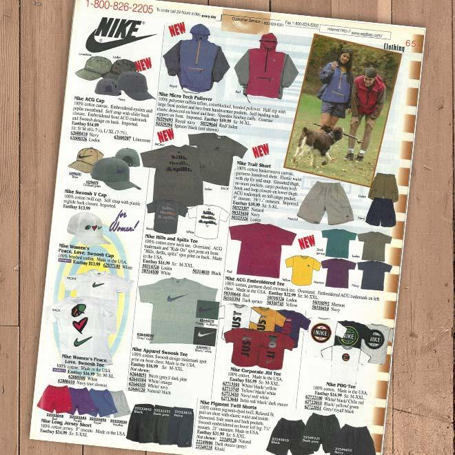 Eastbay Outdoors apparel