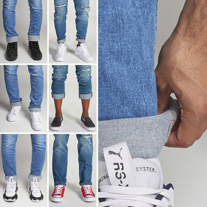 6 Ways To Cuff Your Jeans