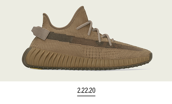 adidas Originals Yeezy Boost 350 V2 'Earth' colorway