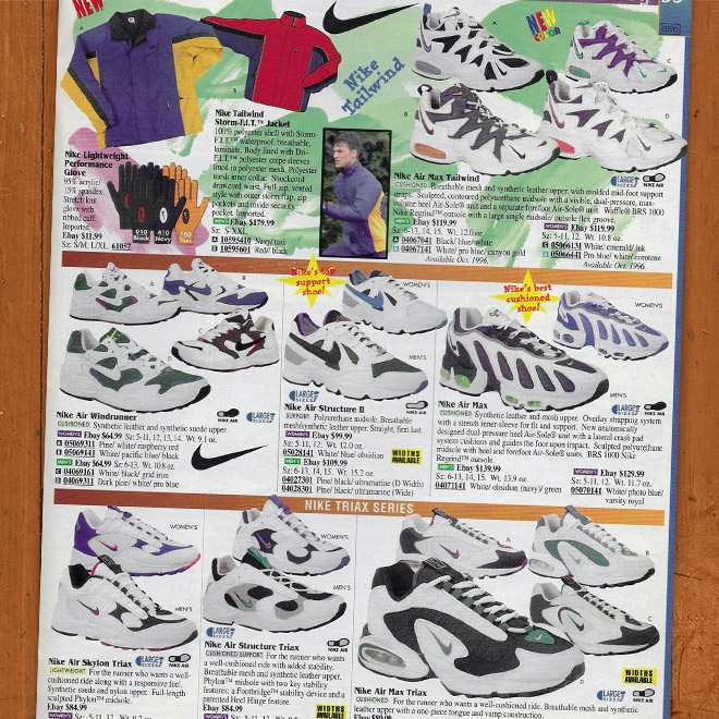 Drew Hammell A Look Back Nike Air Max Tailwind
