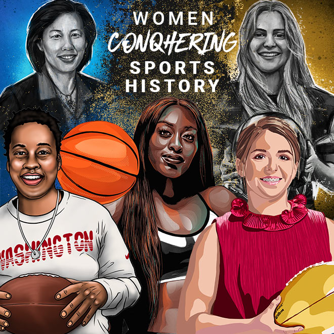 Women ConqHERing Sports History
