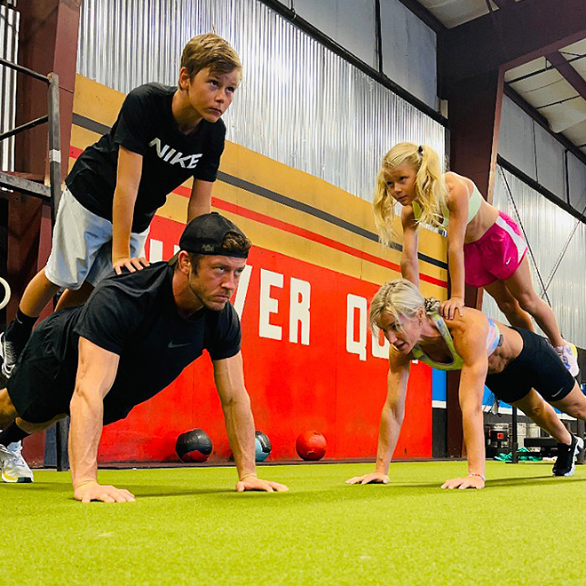 Strengthen Your Upper and Lower Body with Workouts from the Bowen Family