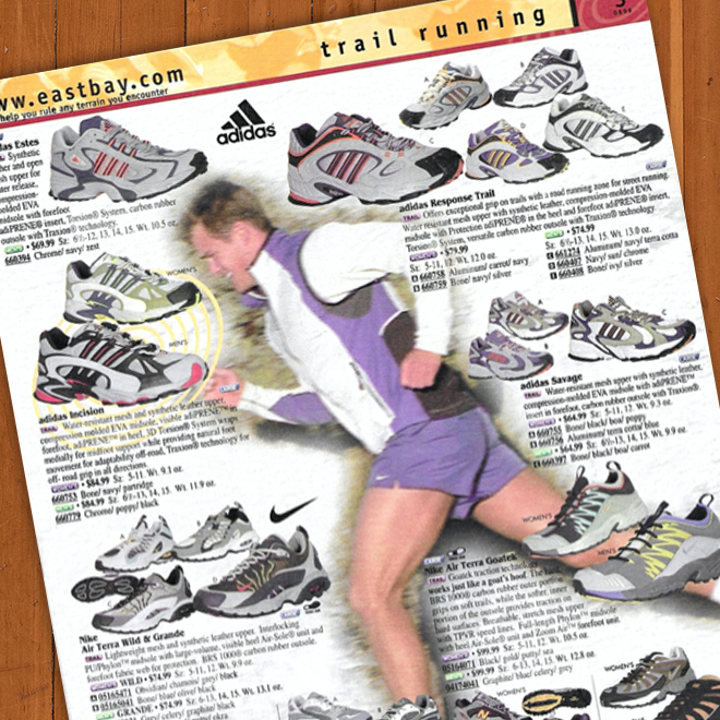 A Look Back Eastbay Catalog Fall '99 Trail Running