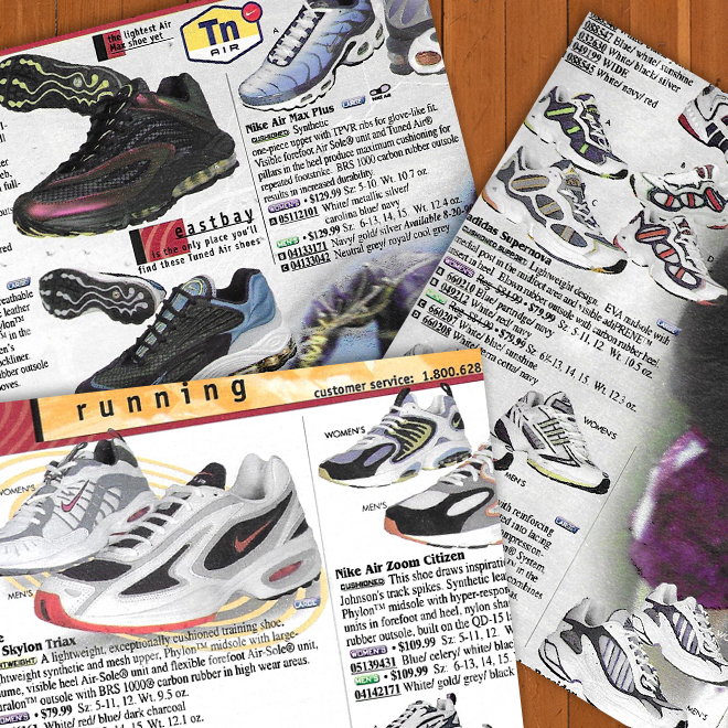 A Look Back Eastbay Catalog Fall Sports '99 Running