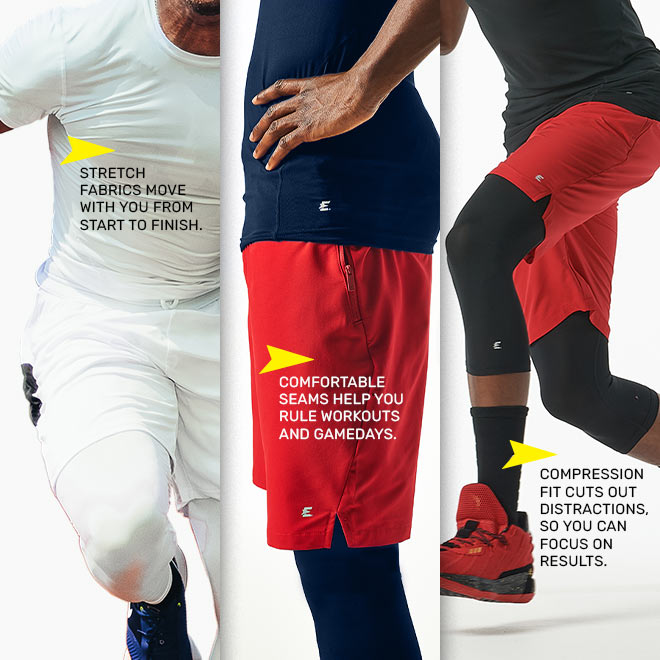 Eastbay Performance Athletic Apparel Compression Collection