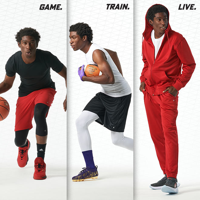 Eastbay Performance Athletic Apparel Game. Train. Live.