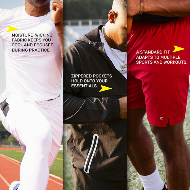 Eastbay Performance Athletic Apparel GymTech Collection