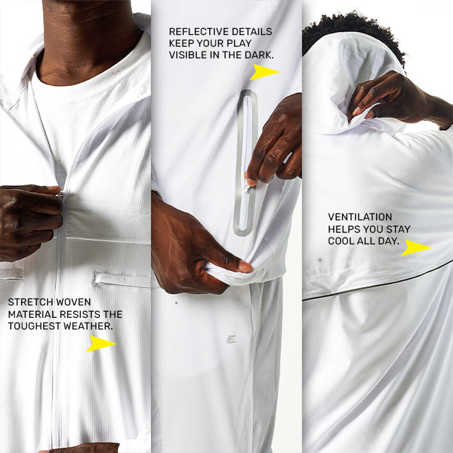 Eastbay Performance Athletic Apparel WindTech Collection